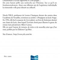4 couv analyse et decouverte du 1er homme de Camus